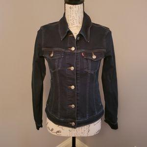 Levi's Denim Jacket Dark Wash - S/P/CH/P